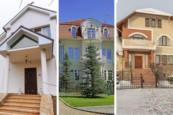 Самый дорогой особняк здесь стоит 200 миллионов рублей, самый «скромный» — 35 миллионов