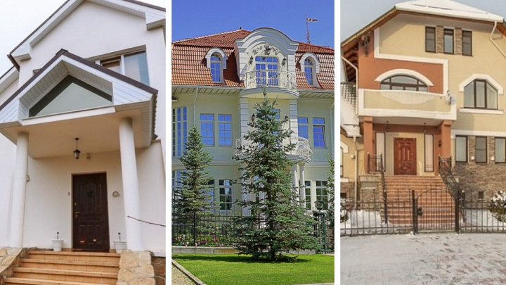 Не хуже, чем под Геленджиком: разглядываем самые роскошные дома на уральской «Рублевке»