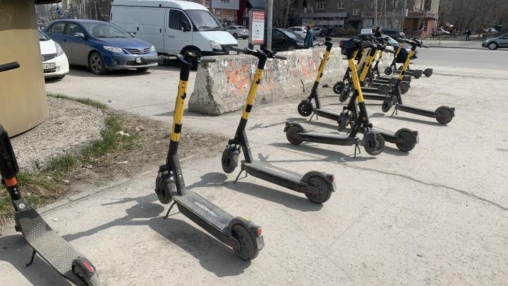 Прокат электросамокатов в Новосибирске поднял цены из-за высокого спроса
