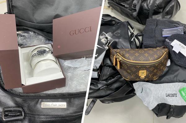 Модные аксессуары не доехали до полок тюменских бутиков