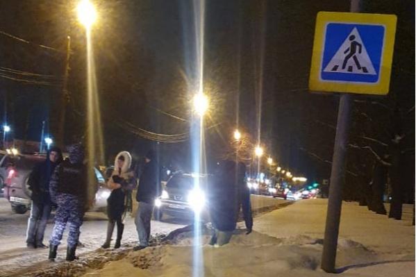 На этом переходе на улице Калинина регулярно происходят ДТП
