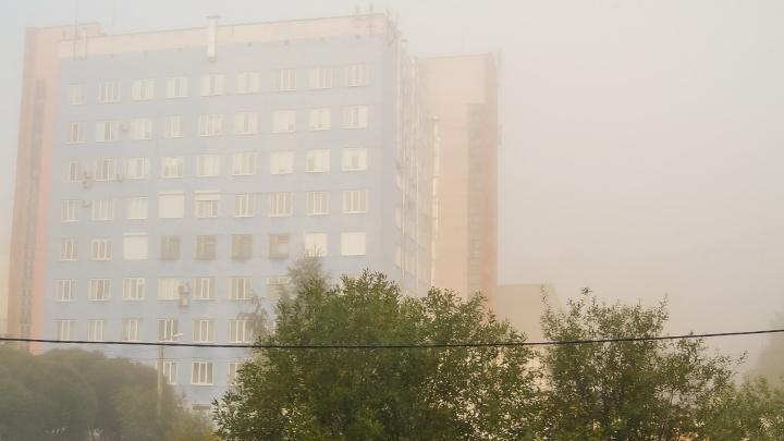 МЧС предупреждает о тумане и сильном ветре в Пермском крае