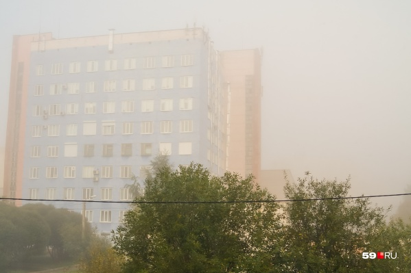 В субботу синоптики прогнозируют туман