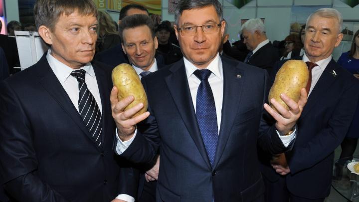 Бывший губернатор Тюменской области Якушев за год обзавелся домом и разбогател на 2 миллиона рублей
