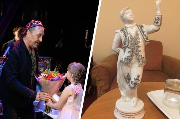 Николай Коляда награжден премией «Фигаро» в Санкт-Петербурге