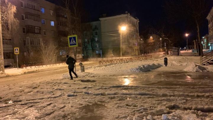 «Ой, боже!»: в Красноперекопском районе Ярославля затопило улицу