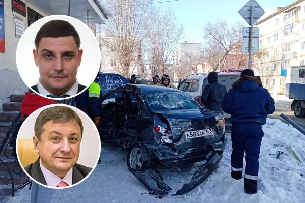 Виталий Смардаков (сверху) и Олег Мартин (внизу) высказали свое мнение относительно деталей происшествия