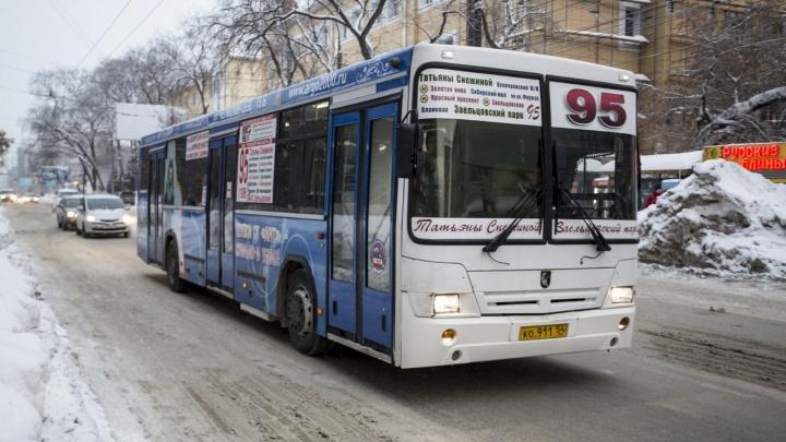 Похожий сбой был 20 лет назад: мэр Новосибирска рассказал, когда общественный транспорт вернется на карты