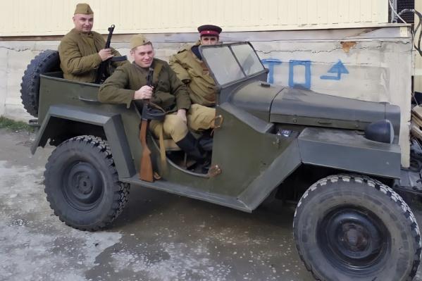 """На Центральной площади выставят военную машину <nobr class=""""_"""">1942 года</nobr> выпуска"""