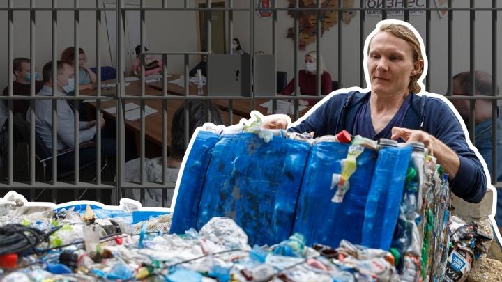 Пострадавший или виновный? За что в Волгограде выселяют «пластикового короля» Романа Себекина