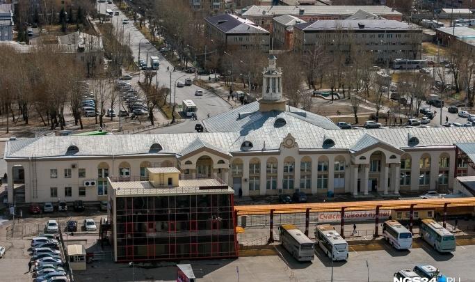 В районе автовокзала изменили схему движения для автомобилей и автобусов
