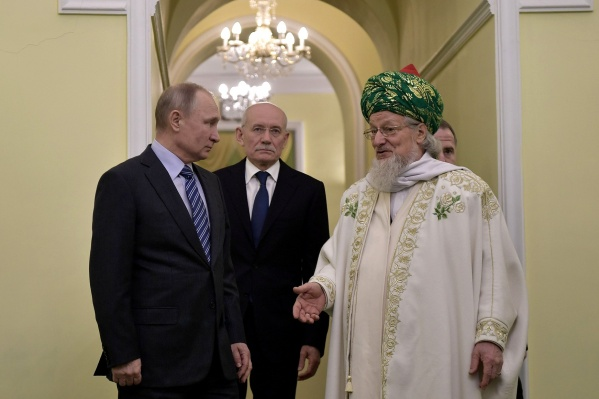 Последний раз глава России приезжал в Уфу в 2018 году, когда Башкирией руководил Рустэм Хамитов
