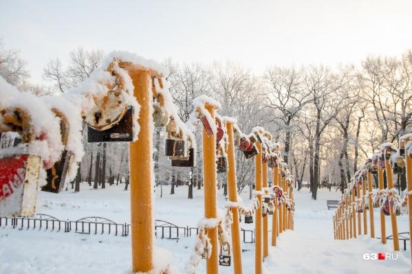 Сопровождать морозы будет изморозь, а потом снова начнутся снегопады