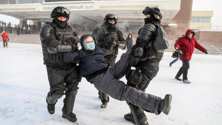 Полиция назвала количество участников воскресного митинга