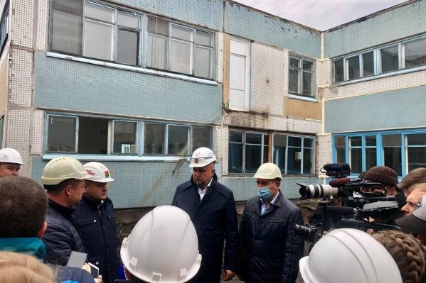 В рамках программы уже начался ремонт образовательного учреждения