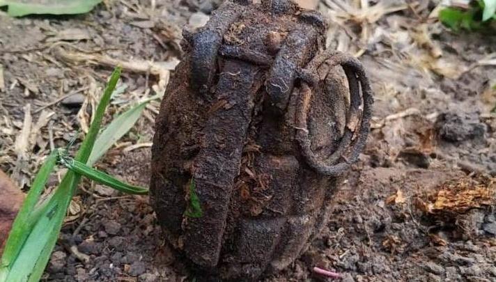 Тюменские саперы обезвредили гранату времен Первой мировой войны, найденную у жилого дома