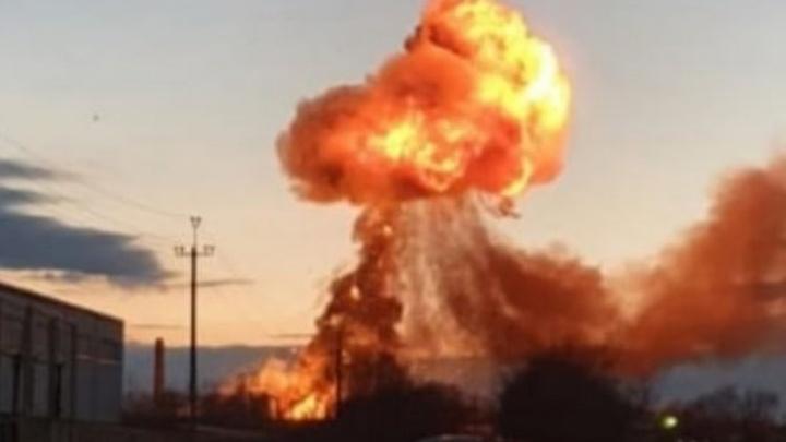 Появилось видео взрыва в кинельском ангаре