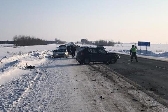 Одно из ДТП произошло в Мелеузовском районе