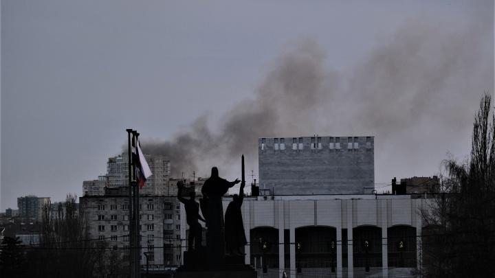 В центре Перми был виден густой дым от пожара. Что загорелось?