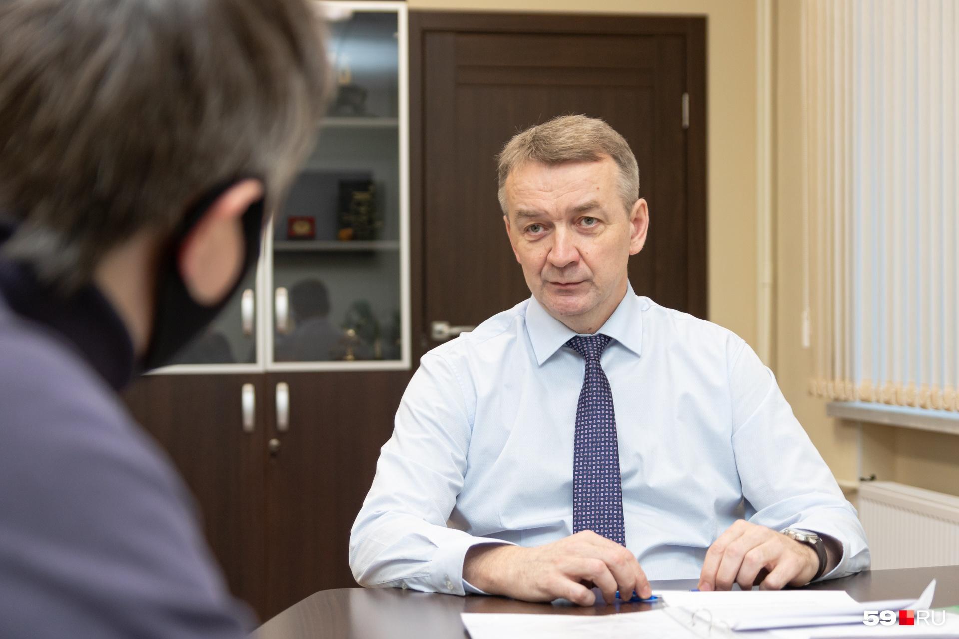 Александр Стяжкин:«За многие годы система управления уже сложилась и отработана»