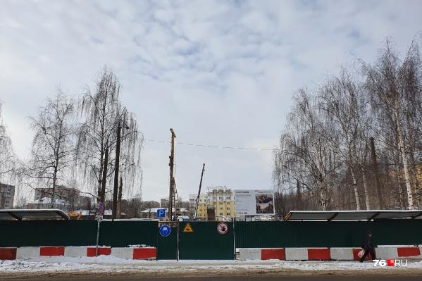 Вместо троллейбусного депо в центре Ярославля построят многоэтажки