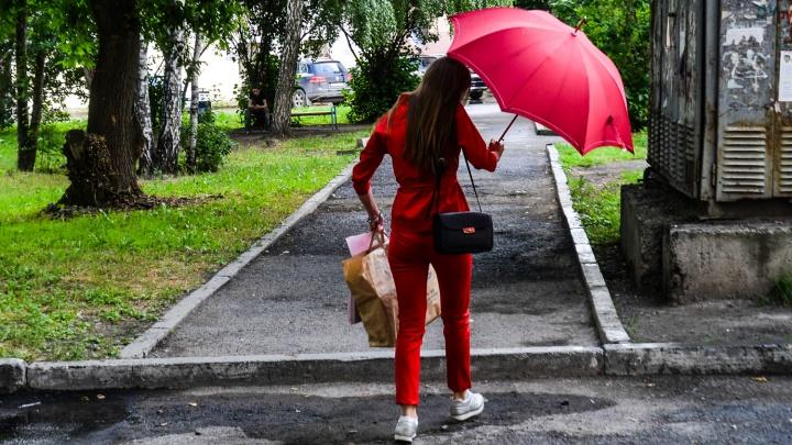 Синоптики пообещали Екатеринбургу дожди и умеренное тепло