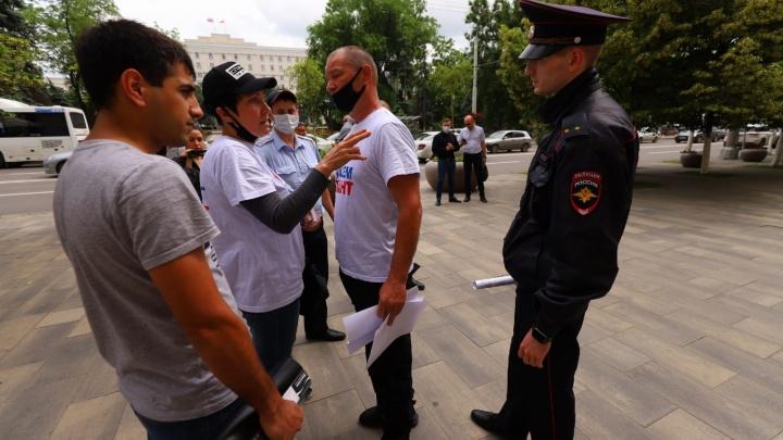 В Ростове задержали предпринимательницу с «Атланта», которая шла с жалобой к полпреду президента