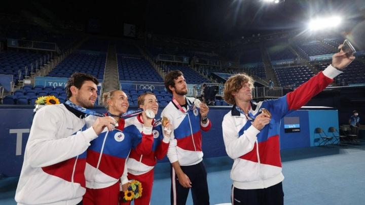 Российские спортсмены завоевали семь медалей в девятый день Олимпиады