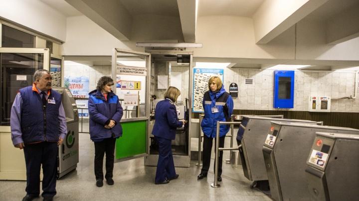 Новосибирское метро закупит турникеты на 30 млн рублей