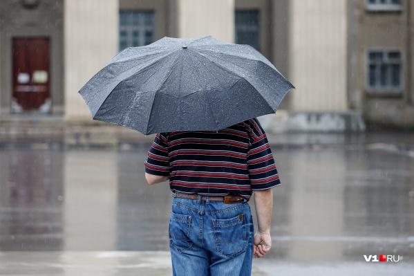 Зонтик может спасти от дождя, но против жары он бессилен