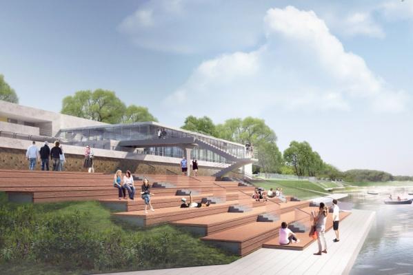 Таким видят парк «Зеленый остров» архитекторы