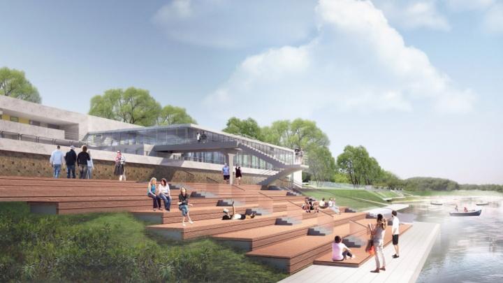 «Хотим дать этому проекту новую жизнь»: в Омске начали благоустраивать парк «Зеленый остров»