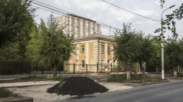 В центре Волгограда сорвали сроки ремонта дороги у инфекционного госпиталя