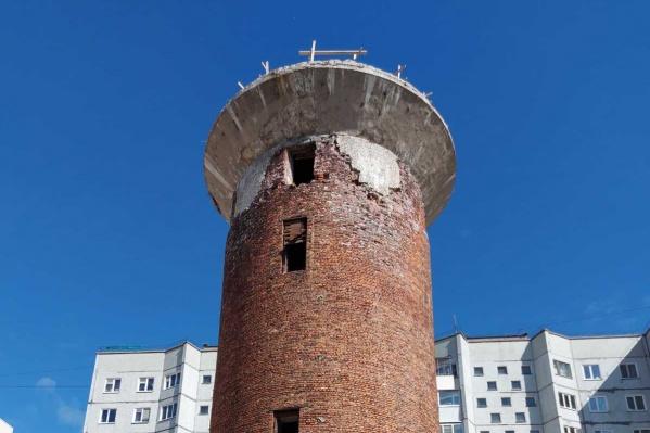 Так башня выглядит сегодня