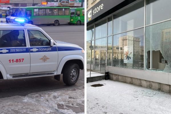 В Екатеринбурге воры влезли в магазин электроники