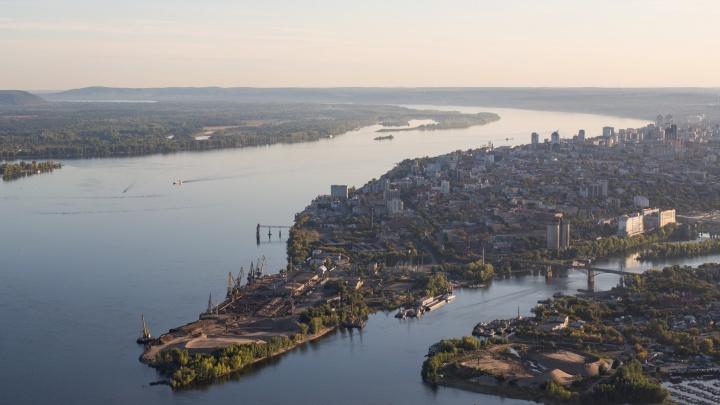На стрелке рек Волги и Самары хотят построить высотки