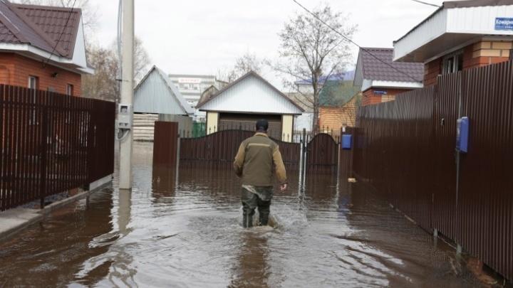В Уфе прибавятся места, которые подтопит в ближайшие дни