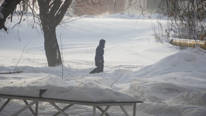 В Самарской области морозы побили рекорды времен ВОВ