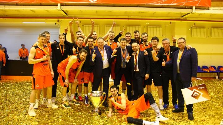 Вошли в историю: уральский баскетбольный клуб впервые выиграл Кубок России