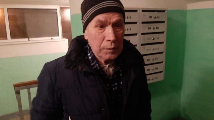 В Екатеринбурге ищут родных мужчины, который пешком дошел с 7 Ключей до Эльмаша