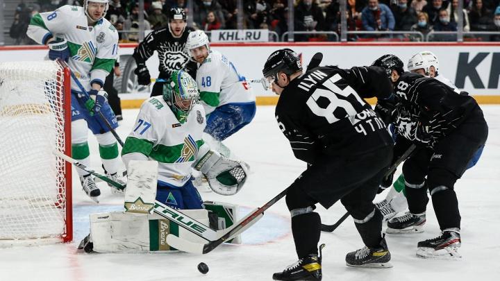 «Трактор» проиграл «Салавату Юлаеву» в третьем матче серии плей-офф Кубка Гагарина