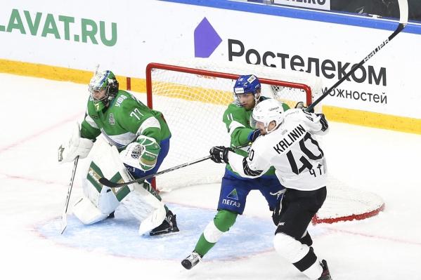 Хоккеисты «Трактора» забросили две шайбы в ворота соперников