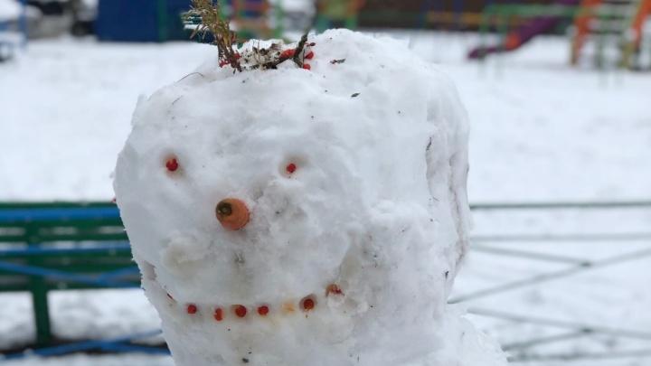 Синоптики Кузбасса объяснили снег в сентябре и рассказали, когда изменится погода