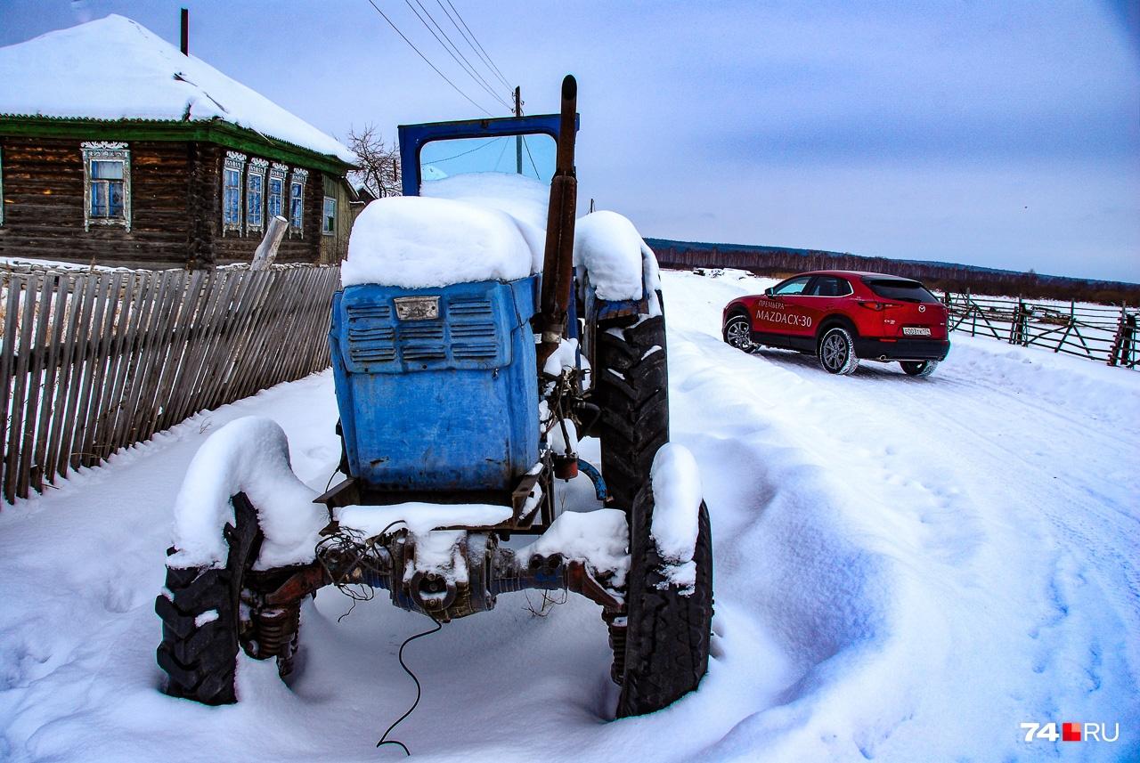 Трактором для деревенских тягот ее не назовешь. Но в гости приехать можно