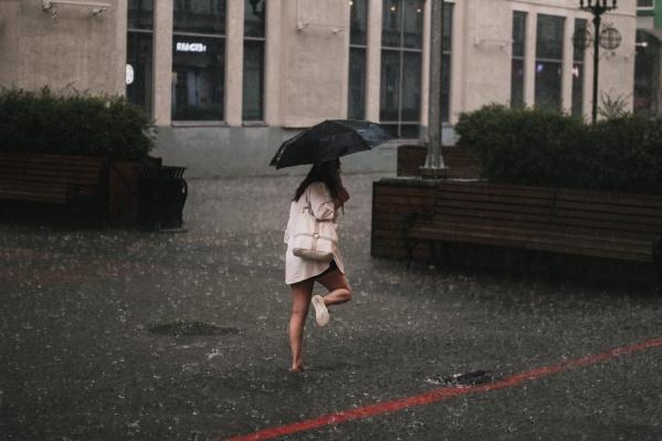 В минувшие выходные Екатеринбург уже накрывало ливнями