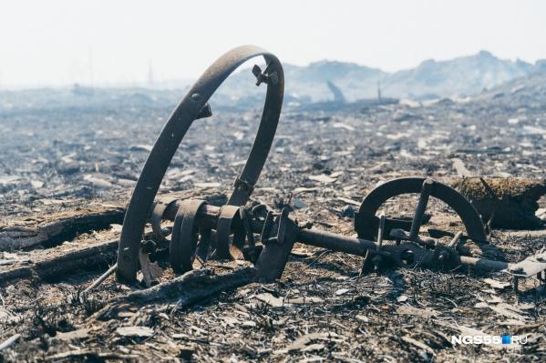 По счастливой случайности, ни один житель не пострадал в пожаре
