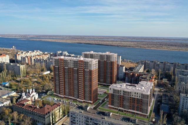 Новый жилой квартал «Волго-Дон» с видом на Волгу и Заволжье строится на улице Жердевской, 12