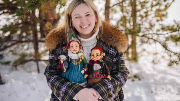 Сказка в реальной жизни: кукольница из Северодвинска создает уникальных кукол ручной работы