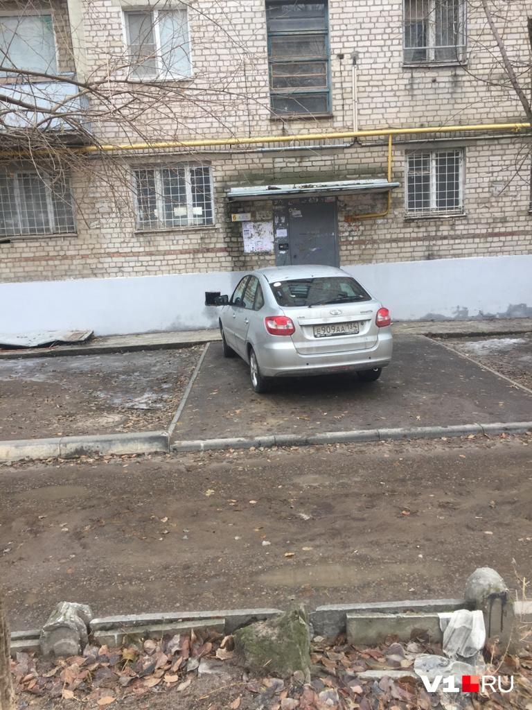 И это тоже не парковка?
