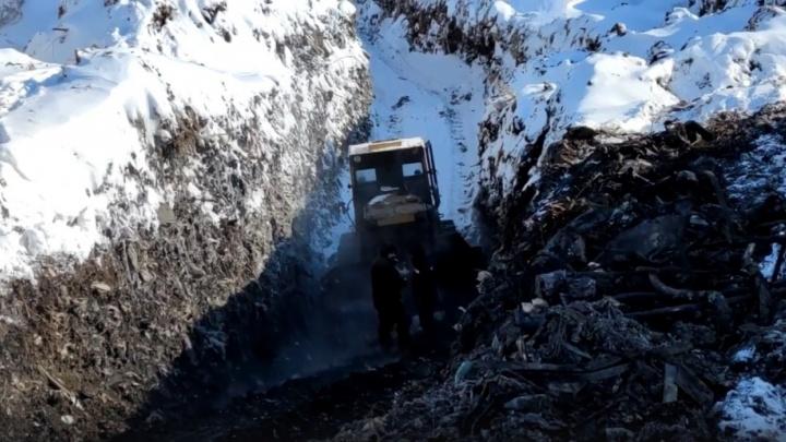 «Есть свет в конце тоннеля»: замминистра прокомментировал ситуацию с черными копателями на свалке
